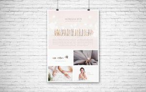 Aurelia Eun Brochure Design