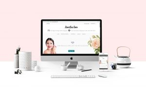 Aurelia-Eun Branding Website Development Design