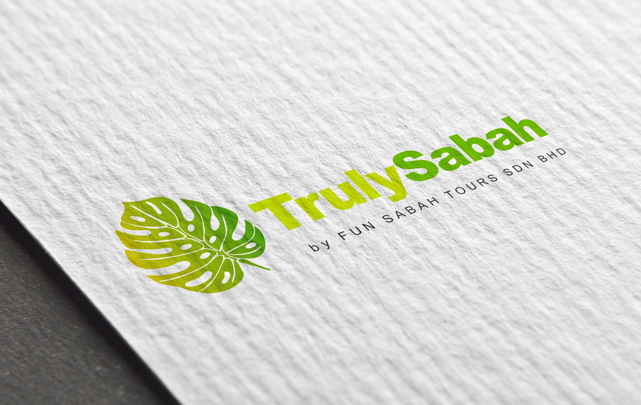 Truly Sabah Branding Logo Design