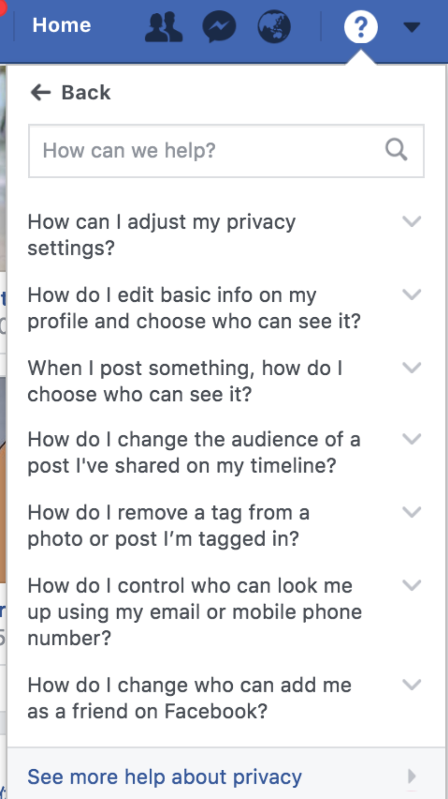 A guide to protecting your privacy on Facebook | Weave Asia