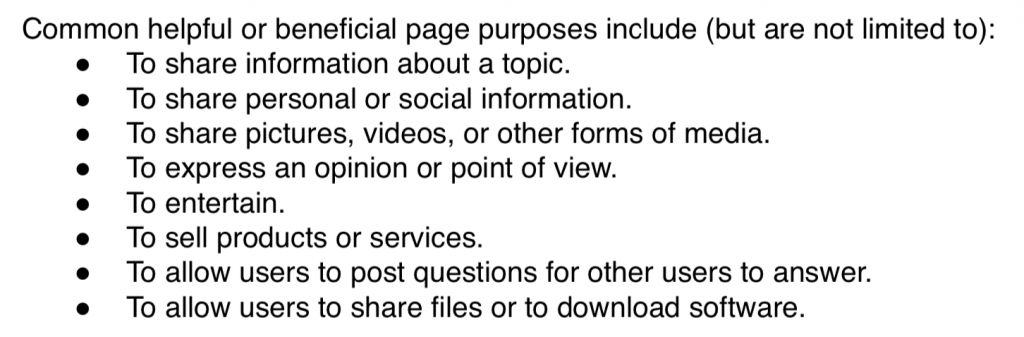 Beneficial-Purpose-Google-Search-Guidelines